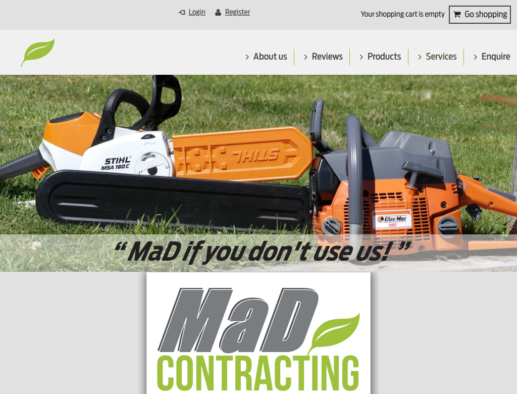 Mad Contracting Wide